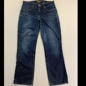 Lucky Brand Women's Blue Easy Rider Bootcut Jeans